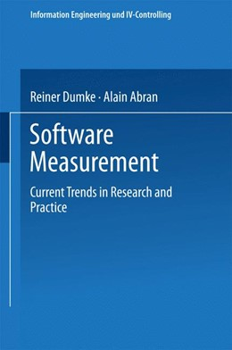 Abbildung von Dumke / Abran | Software Measurement | 1999 | Current Trends in Research and...