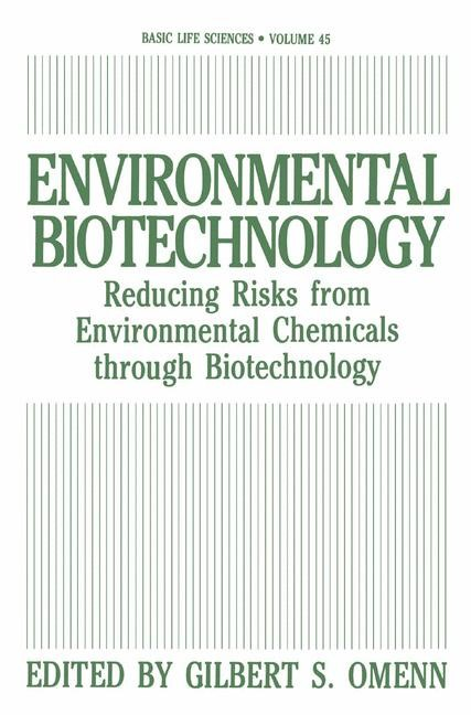 Environmental Biotechnology | Omenn, 2013 | Buch (Cover)