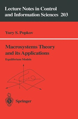 Abbildung von Popkov | Macrosystems Theory and its Applications | 1995 | Equilibrium Models | 203