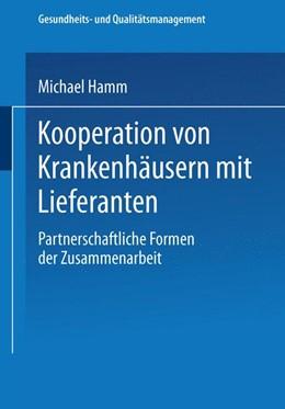 Abbildung von Hamm   Kooperation von Krankenhäusern mit Lieferanten   2002   Partnerschaftliche Formen der ...