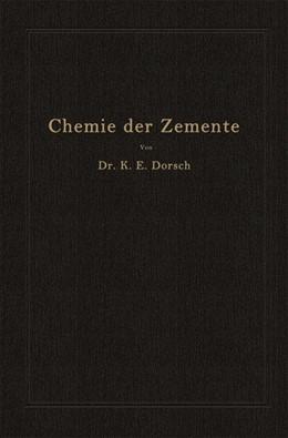 Abbildung von Dorsch | Chemie der Zemente (Chemie der hydraulischen Bindemittel) | 1932
