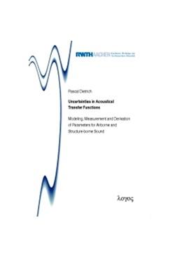 Abbildung von Dietrich | Uncertainties in Acoustical Transfer Functions | 1. Auflage | 2013 | 16 | beck-shop.de