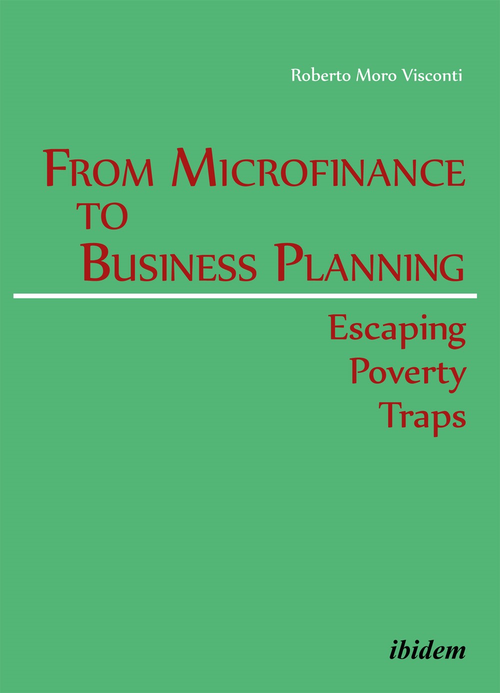 From Microfinance to Business Planning | Moro Visconti, 2014 | Buch (Cover)