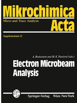 Abbildung von Boekestein / Pavicevic | Electron Microbeam Analysis | 1992 | 12