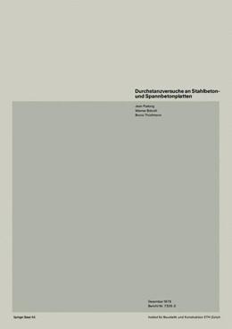 Abbildung von PRALONG / BRÄNDLI / THÜRLIMANN | Durchstanzversuche an Stahlbeton- und Spannbetonplatten | 1979