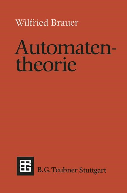 Automatentheorie | Brauer, 1984 | Buch (Cover)