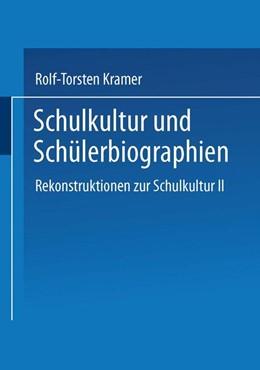 """Abbildung von Kramer   Schulkultur und Schülerbiographien   2002   Das """"schulbiographische Passun...   17"""