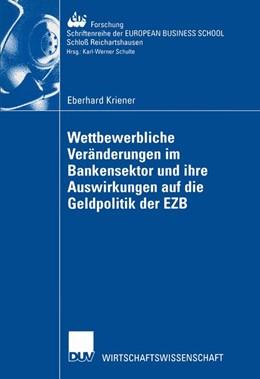Abbildung von Kriener | Wettbewerbliche Veränderungen im Bankensektor und ihre Auswirkungen auf die Geldpolitik der EZB | 2002 | 40