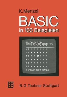 Abbildung von Menzel   BASIC in 100 Beispielen   1984