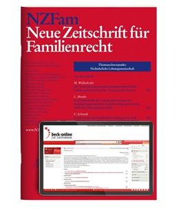Abbildung von NZFam • Neue Zeitschrift für Familienrecht | 5. Auflage | 2020 | beck-shop.de