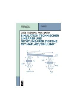 Abbildung von Hoffmann / Quint   Simulation technischer linearer und nichtlinearer Systeme mit MATLAB/Simulink   2014