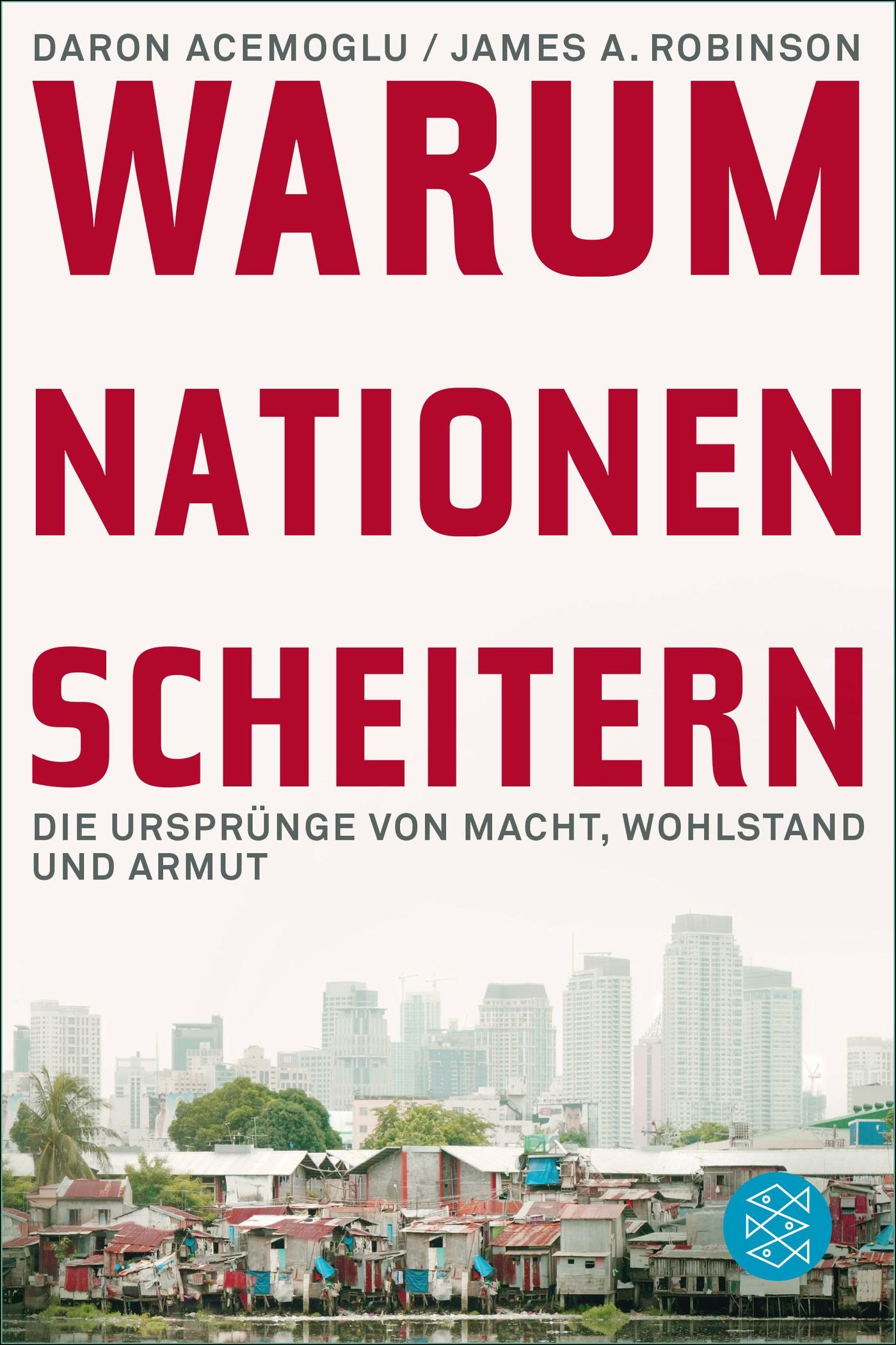 Warum Nationen scheitern | Acemoglu / Robinson, 2014 | Buch (Cover)