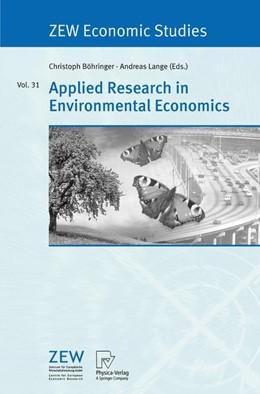 Abbildung von Böhringer / Lange   Applied Research in Environmental Economics   2005   31