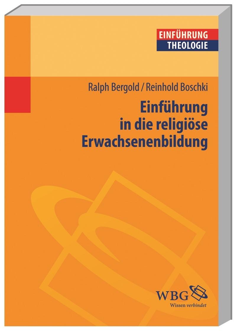 Einführung in die religiöse Erwachsenenbildung | Boschki / Bergold, 2014 | Buch (Cover)