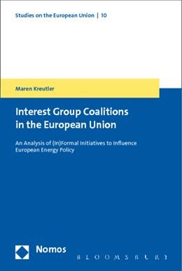 Abbildung von Kreutler   Interest Group Coalitions in the European Union   2015   An Analysis of (In)Formal Init...   10