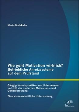 Abbildung von Motzkuhn | Wie geht Motivation wirklich? – Betriebliche Anreizsysteme auf dem Prüfstand | 2013 | Gängige Anreizpraktiken von Un...