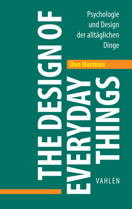 The Design of Everyday Things | Norman | Überarbeitete und erweiterte Auflage, 2016 | Buch (Cover)