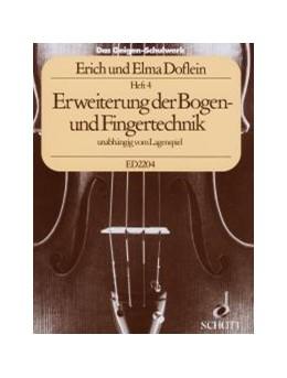 Abbildung von Doflein   Das Geigen-Schulwerk   3. verbesserte Ausgabe   Erweiterung der Bogen- und Fin...
