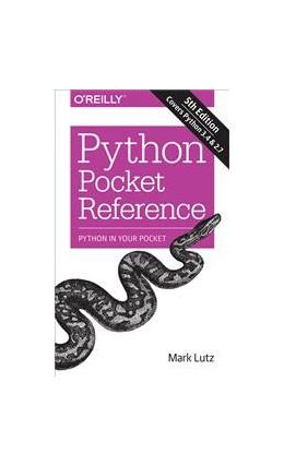 Abbildung von Mark Lutz | Python Pocket Reference | 2014