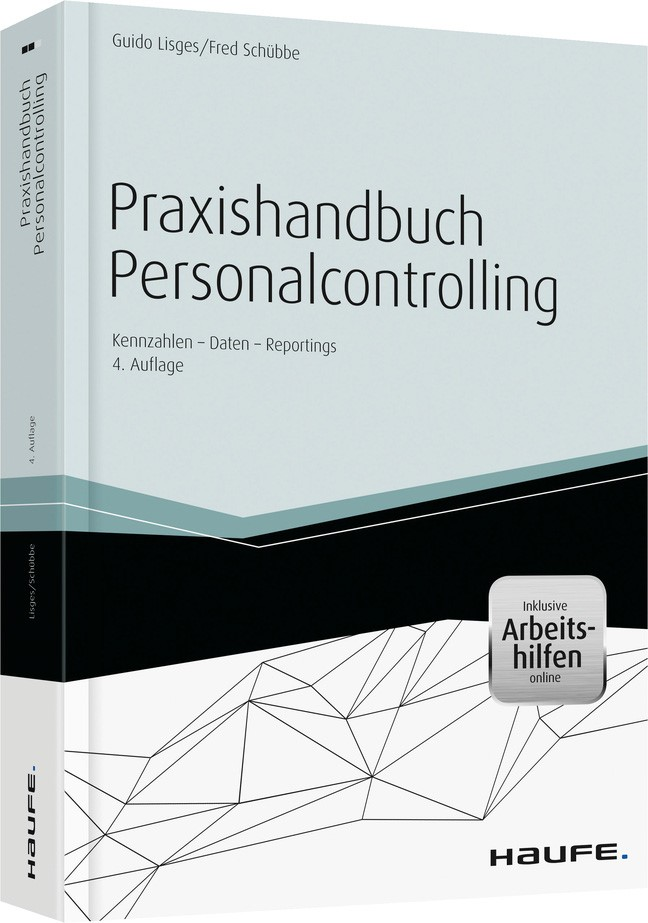 Praxishandbuch Personalcontrolling | Lisges / Schübbe | 4. Auflage, 2014 (Cover)