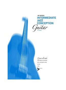 Abbildung von Snidero | Intermediate Jazz Conception | 2012 | 15 great solo etudes. Gitarre....