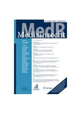 Abbildung von MedR - Medizinrecht | 36. Auflage | 2021 | beck-shop.de