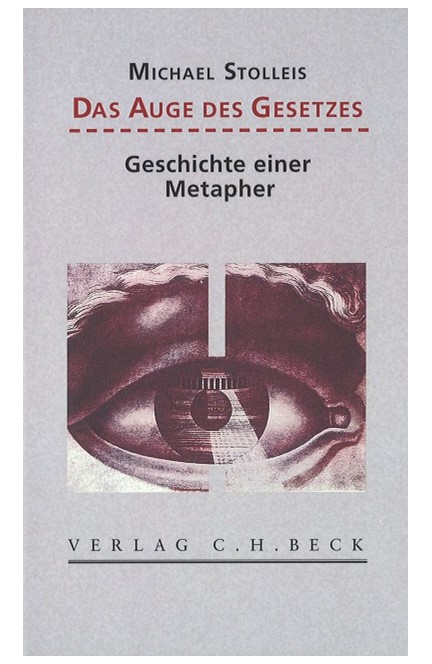 Cover: Michael Stolleis, Das Auge des Gesetzes