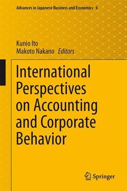 Abbildung von Ito / Nakano   International Perspectives on Accounting and Corporate Behavior   1. Auflage   2014   6   beck-shop.de