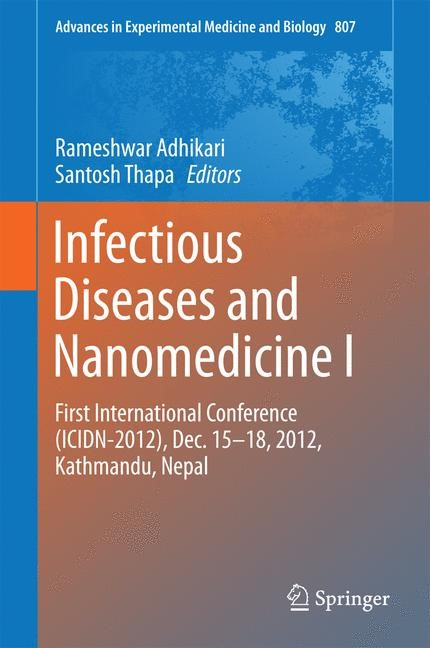 Infectious Diseases and Nanomedicine I | Adhikari / Thapa, 2014 | Buch (Cover)