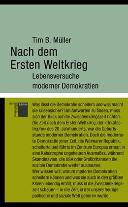 Abbildung von Müller | Nach dem Ersten Weltkrieg | 2014 | Lebensversuche moderner Demokr...