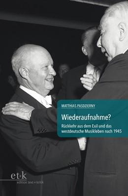 Abbildung von Pasdzierny | Wiederaufnahme? | 1. Auflage | 2014 | beck-shop.de