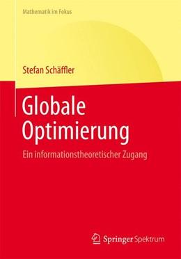 Abbildung von Schaeffler   Globale Optimierung   2014   Ein informationstheoretischer ...
