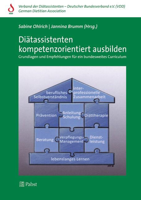 Diätassistenten kompetenzorientiert ausbilden | Ohlrich / Brumm, 2013 (Cover)