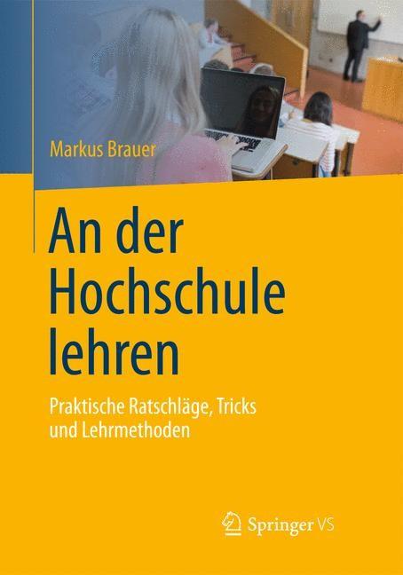 An der Hochschule lehren | Brauer, 2014 | Buch (Cover)