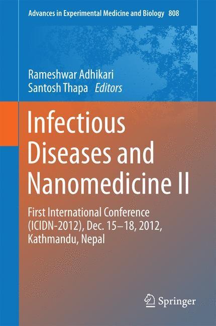 Infectious Diseases and Nanomedicine II | Adhikari / Thapa, 2014 | Buch (Cover)