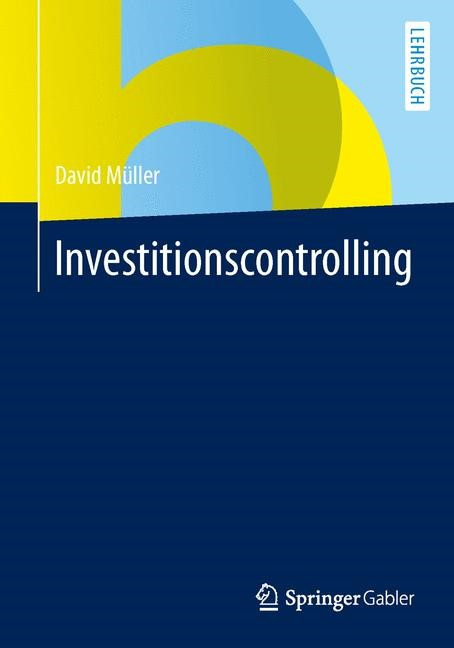 Investitionscontrolling | Müller, 2014 | Buch (Cover)