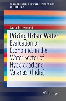 Abbildung von Echternacht | Pricing Urban Water | 1. Auflage | 2014 | beck-shop.de