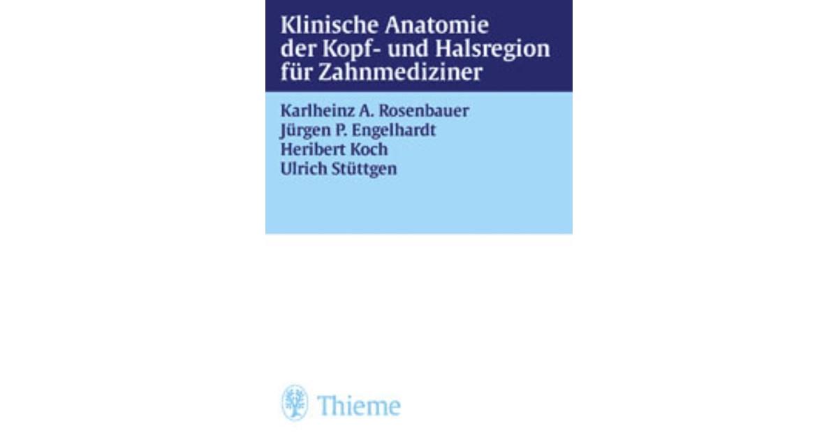 Klinische Anatomie der Kopf- und Halsregion für Zahnmediziner ...
