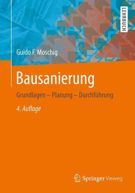 Bausanierung   Moschig, 2014   Buch (Cover)