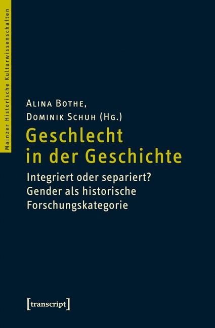 Geschlecht in der Geschichte | Bothe / Schuh, 2014 | Buch (Cover)