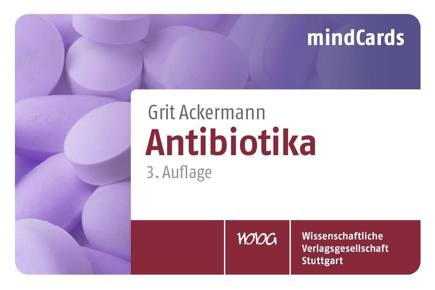 Antibiotika | Ackermann | aktualisierte Auflage, 2013 | Buch (Cover)