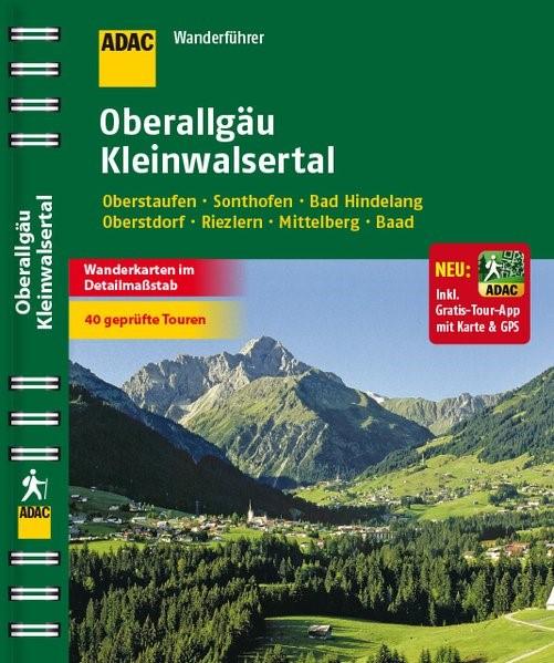ADAC Wanderführer Oberallgäu Kleinwalsertal inklusive Gratis Tour App, 2014 | Buch (Cover)