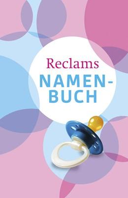 Abbildung von Debus | Reclams Namenbuch | 1. Auflage | 2014 | beck-shop.de