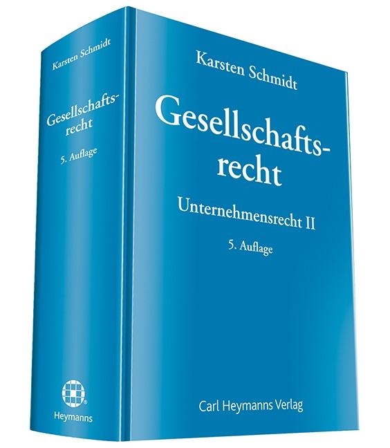 Gesellschaftsrecht | Schmidt | 5. Auflage, 2020 | Buch (Cover)