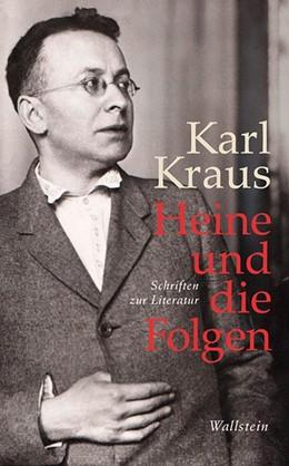 Abbildung von Kraus | Heine und die Folgen | 1. Auflage | 2014 | 21 | beck-shop.de