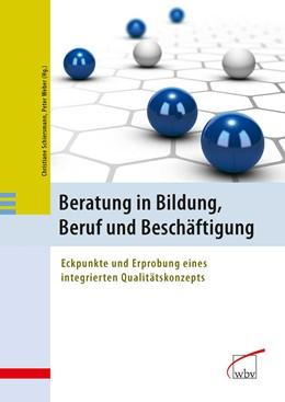 Abbildung von Schiersmann / Weber   Beratung in Bildung, Beruf und Beschäftigung   2013   Eckpunkte und Erprobung eines ...