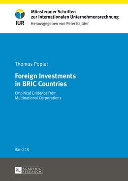 Abbildung von Poplat | Foreign Investments in BRIC Countries | 2013 | Empirical Evidence from Multin... | 10