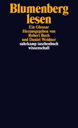 Abbildung von Weidner / Buch | Blumenberg lesen | 1. Auflage | 2014 | 2103 | beck-shop.de