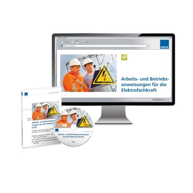 Arbeitsanweisungen für die Elektrofachkraft   Adamus / Mathiae (Cover)