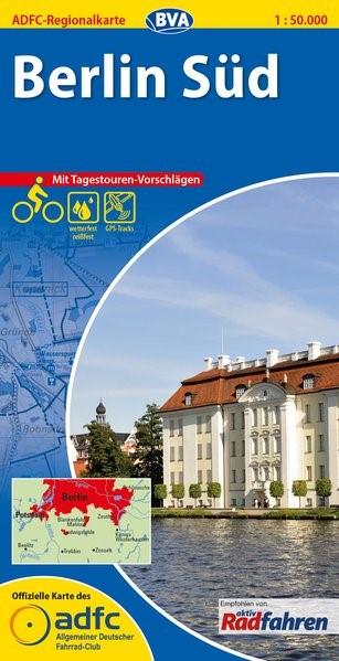 Abbildung von ADFC-Regionalkarte Berlin Süd 1 : 50 000   1., Auflage   2014